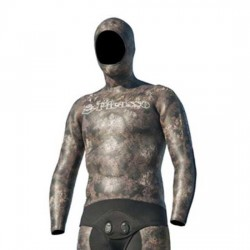 Traje Picasso Thermal Brown Camo 5mm